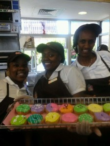 National Donut Day Employees